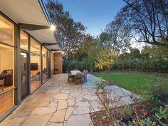 Love the crazy paving! Love the crazy paving! Outdoor Paving, Garden Paving, House Landscape, Landscape Design, Paving Ideas, Decking Ideas, Pool Ideas, Outdoor Kitchen Patio, Outdoor Kitchens