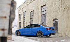 Blue BMW E92 335i Photoshoot