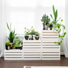 Create this project with Americana Decor® Satin Enamels™ — Decorate a corner or other nook with a sleek plant stand made with Americana Decor® Satin Enamels™.