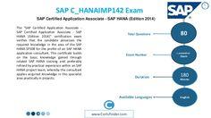 Exam Name  SAP Certified Application Associate (Edition 2014) - SAP HANA  Exam Code- C_HANAIMP141 http://www.troytec.com/C_HANAIMP141-exams.html