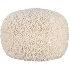 Poodle pouf