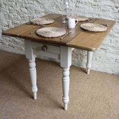 victorian pine drop leaf table - Drop Leaf Round Kitchen Table