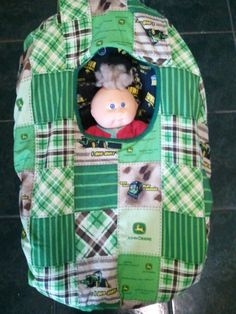 Hey, I found this really awesome Etsy listing at http://www.etsy.com/listing/99206758/baby-carrier-cozy-cover-up-in-john-deere