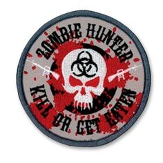 Zombie Hunter Patch now available at http://www.karatemart.com/