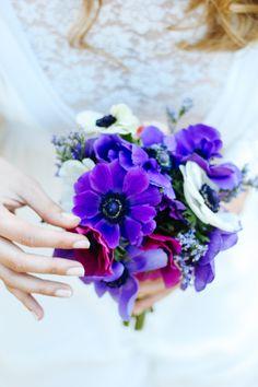 Bouquet Roxo e Branco | Purple and White Bouquet  by Amor&Lima
