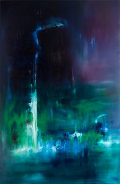 Let Me Fall - 200x300 cm - Oil On Canvas by Laurel Holloman