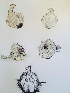Garlic by cindy phelan