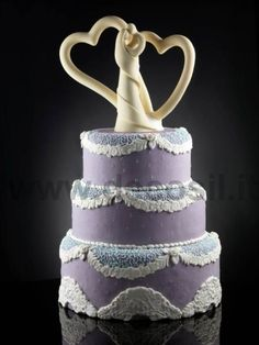 Embraced Couple mould - Stylized Married Wedding cake topper and 3D figurines
