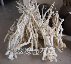 naturale rami bianco arancione rami albero di cuoio rami tronco mikie fiori secchi chiglia decorazione