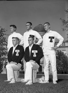 1961 Texas A & M - Yell Leaders