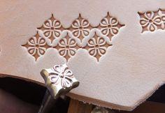 01202 Decor 11 x11 mm Vintage Biker Leather Custom by Toolpaw, $19.00