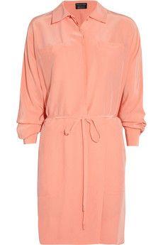 Diane von Furstenberg - Rosetta wrap-effect brushed-silk dress