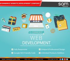 Creating an ecommerce website doesn't costly as much as you might think. SAM Web Studio- Web and Mobile Application Development.. takes care of the special designing needs of eCommerce websites. Call us on +91 9968 353 570. #samwebstudio #ecommerce #ecommercewebsite #ecommercewebsitedesigningcompany #ecommercewebsitedevelopment #ecommercewebsiteservices #websitedevelopment #ecommercewebdevelopment
