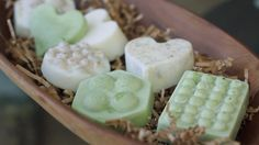 DIY Homemade Green Tea Body Butter Bars