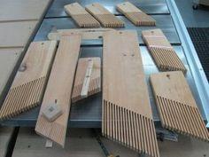 Fabriquer des peignes #1 Making Featherboards | Atelier du Bricoleur (menuiserie)…..…… Woodworking Hobbyist's Workshop