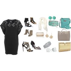 """Little Black Dress"" by pink-ink2 on Polyvore"