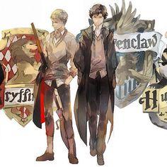 Sherlock at Hogwarts Sherlock Fandom, Sherlock John, Sherlock Holmes, Merlin Fandom, Jim Moriarty, Sherlock Quotes, Johnlock, Manga Comics, Detective