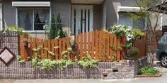 外構フェンスDIY外観 Fence, Outdoor Structures, Walls