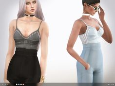 """sssvitlans: """" Created By toksik toksik - Gigi Outfit Created for: The Sims 4 - 6 colours http://www.thesimsresource.com/downloads/1333080 """""""