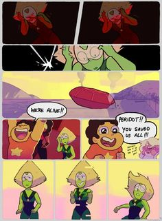 Steven Universe, Peridot and the gang Steven Univese, Nerd, Steven Universe Memes, Bubbline, Lapidot, Universe Art, My Chemical Romance, So Little Time, Have Time