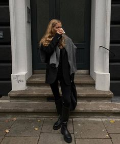 Fall Fashion Outfits, Mode Outfits, Winter Outfits, Casual Outfits, Womens Fashion, Marie Von Behrens, Mode Dope, Look Office, Neutral Outfit