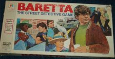 MILTON BRADLEY: 1976 Baretta The Street Detective Game #Vintage #Games