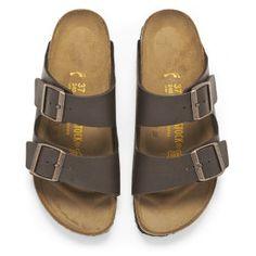 Birkenstock Women's Arizona Slim Fit Double Strap Sandals - Brown: Image 11