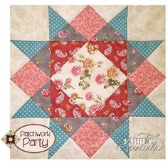 Fabric Essentials Laser Cut Block for Patchwork Party 2013