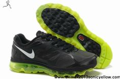 official photos b301e 732d8 More and More Cheap Shoes Sale Online,Welcome To Buy New Shoes 2013 Mens  Nike Air Max 2012 Black Volt Metallic Silver Shoes  New Shoes - Mens Nike  Air Max ...