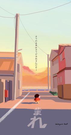 Sinchan Wallpaper, Naruto Wallpaper, Cartoon Wallpaper, Crayon Shin Chan, Ghibli, Cartoon Drawings, Cool Artwork, Kittens Cutest, Illustration Art