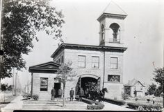 Canton Fire Department, Station #8, 15th St. & Dueber SW.  From the collection of the McKinley Presidential Library & Museum, Canton, Ohio