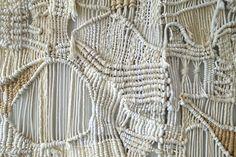 Large Handmade Macrame + Weaving Wall Art