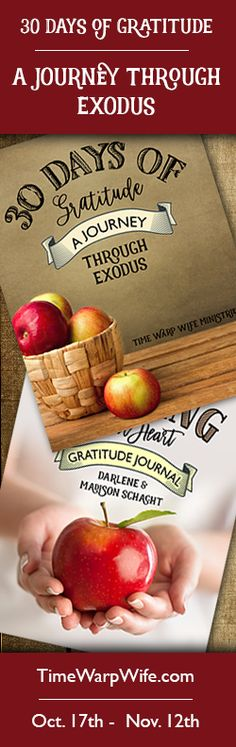 30 Days of Gratitude: A Journey Through Exodus - FREE Bible Study