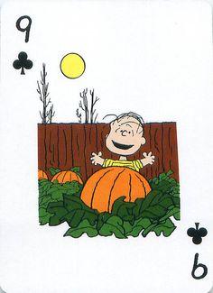 https://flic.kr/p/dd2yCc | Peanuts Great Pumpkin Playing Cards | From the Peanuts Great Pumpkin card deck set.