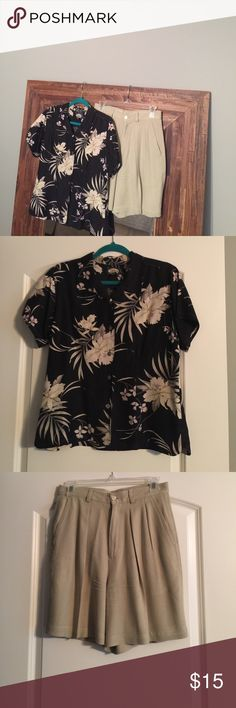 Cute Tommy Bahama Bundle!!!! Cute Tommy Bahama Bundle!!!! Like New!!! Top and shorts Included!!! Top is a size medium and shorts are a size 8. Tommy Bahama  Other