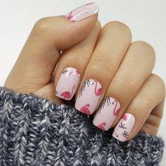 Flamingo, Nail Wraps by Personail