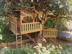 kids tree house  | #treehouse #DIY #building #outdoors #kids #children