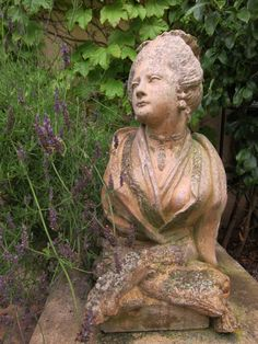 This would be a great garden statue...weather however would not be kind to it.