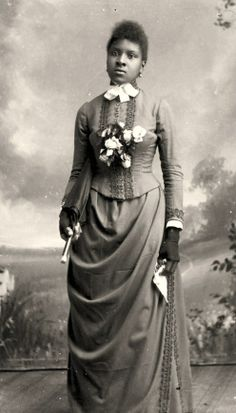 19th-century American Women: Photo Archives - African American Ladies & the Language of the Victorian Parasol