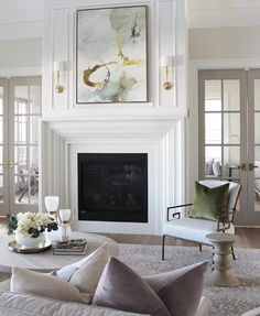 New Totally Free stone Fireplace Mantels Concepts Fireplaces are definitely considered one of my personal favorites elements of the home. Stone Fireplace Mantel, Home Fireplace, Living Room With Fireplace, Fireplace Surrounds, Fireplace Design, Marble Fireplace Surround, Classic Fireplace, Fireplace Ideas, Stone Fireplaces