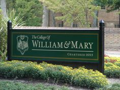 College of William & Mary, Williamsburg, Virginia
