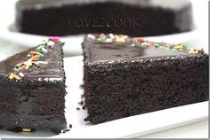 moist chocolate cake5