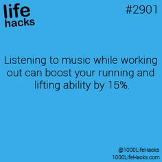 I believe this. It def helps me run.