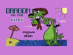 pixel graphics Commodore Plus/4