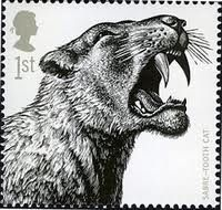 saber tooth tiger postage stamps - Google Search