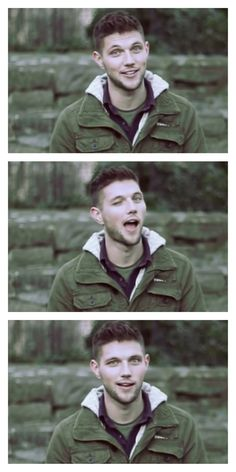 The faces of Colm Keegan. The (adorable) faces of Colm Keegan, excuse you.
