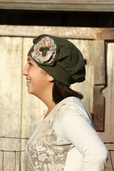 Downton Abbey Inspired Forest Green With by Geminivintagestore, $35.00