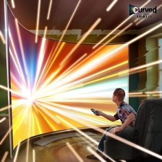 Samsung Curved UHDTV Television