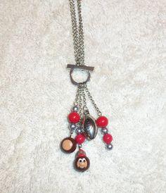 Ohio State Buckeyes Two Way NecklaceWear it by JodisJewelryDesigns, $15.00