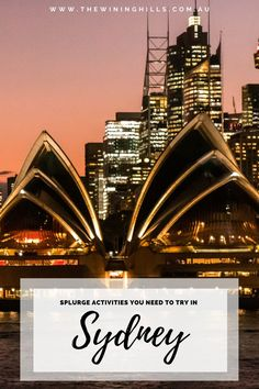 Once in a Lifetime Experiences you MUST do in Sydney! Take a helicopter over the Harbour or enjoy cruising past the Opera House on a private yacht! These total splurge activities you must try once in Sydney! #australia #sydneytravel Sydney Australia, Australia Travel, Us Travel, Travel Tips, Fraser Island, Private Yacht, Canadian Travel, Visit Canada, Beaches In The World